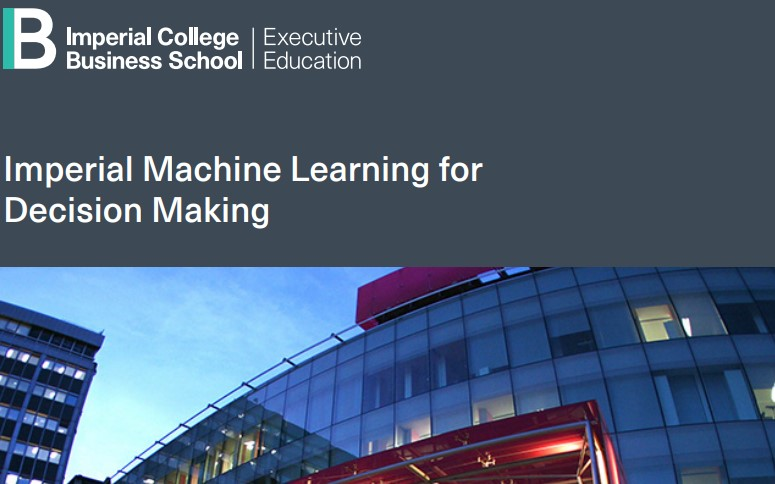 Machine Learning at Imperial College: my experience